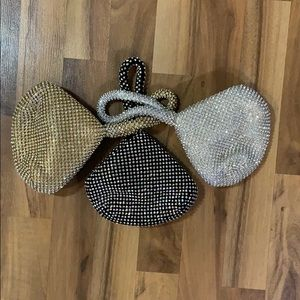 Set of 3 wrist style evening bags